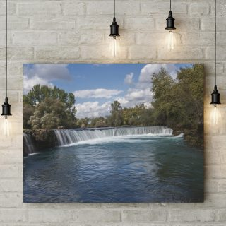 Manavgat waterval canvas