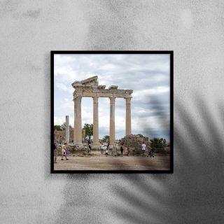 Tempel van apollo afdruk